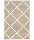 RugStudio presents Safavieh Amherst Amt421s Wheat / Beige Machine Woven, Good Quality Area Rug