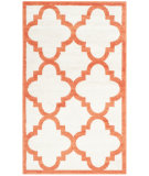 RugStudio presents Safavieh Amherst Amt423f Beige - Orange Machine Woven, Good Quality Area Rug