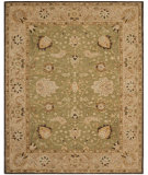 RugStudio presents Safavieh Anatolia AN512C Sage / Beige Hand-Tufted, Good Quality Area Rug