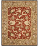 RugStudio presents Safavieh Anatolia AN512G Rust / Green Hand-Tufted, Good Quality Area Rug