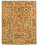 RugStudio presents Safavieh Anatolia AN516A Sage / Ivory Hand-Tufted, Good Quality Area Rug