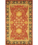 RugStudio presents Rugstudio Sample Sale 49585R Red / Navy Hand-Tufted, Best Quality Area Rug