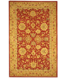 RugStudio presents Safavieh Anatolia AN522A Red / Ivory Hand-Tufted, Good Quality Area Rug