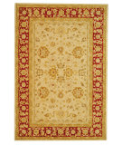 RugStudio presents Safavieh Anatolia AN522C Ivory / Red Hand-Tufted, Good Quality Area Rug