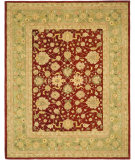 RugStudio presents Safavieh Anatolia AN522D Red / Moss Hand-Tufted, Best Quality Area Rug