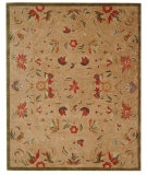 RugStudio presents Safavieh Anatolia AN525A Beige / Green Hand-Tufted, Best Quality Area Rug