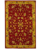 RugStudio presents Safavieh Anatolia AN526A Burgundy / Gold Hand-Tufted, Good Quality Area Rug