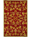 RugStudio presents Safavieh Anatolia AN527A Burgundy / Sage Hand-Tufted, Best Quality Area Rug