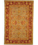 RugStudio presents Safavieh Anatolia AN529A Grey / Red Hand-Tufted, Good Quality Area Rug