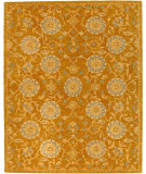 RugStudio presents Rugstudio Sample Sale 49594R Gold / Blue Hand-Tufted, Best Quality Area Rug