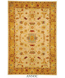 RugStudio presents Safavieh Anatolia AN543C Ivory / Gold Hand-Tufted, Good Quality Area Rug