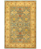 RugStudio presents Rugstudio Sample Sale 49602R Light Blue / Ivory Hand-Tufted, Good Quality Area Rug