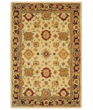 RugStudio presents Safavieh Anatolia AN546A Ivory / Brown Hand-Tufted, Good Quality Area Rug