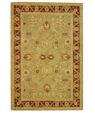 RugStudio presents Safavieh Anatolia AN548A Light Green / Red Hand-Tufted, Good Quality Area Rug