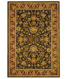 RugStudio presents Safavieh Anatolia AN548B Charcoal / Red Hand-Tufted, Good Quality Area Rug