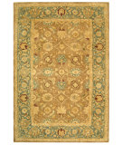 RugStudio presents Safavieh Anatolia AN549A Brown / Blue Hand-Tufted, Best Quality Area Rug