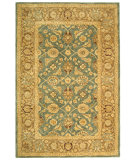 RugStudio presents Safavieh Anatolia AN549B Blue / Brown Hand-Tufted, Good Quality Area Rug