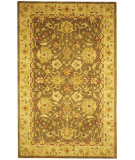 RugStudio presents Safavieh Anatolia AN553A Green / Gold Hand-Tufted, Good Quality Area Rug