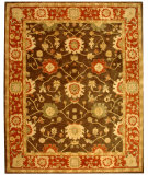 RugStudio presents Safavieh Anatolia AN554A Olive / Rust Hand-Tufted, Best Quality Area Rug