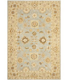 RugStudio presents Safavieh Anatolia AN556B Blue / Sage Hand-Tufted, Good Quality Area Rug