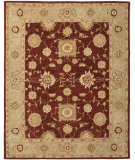 RugStudio presents Safavieh Anatolia An556f Red / Sage Hand-Tufted, Better Quality Area Rug