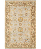 RugStudio presents Rugstudio Sample Sale 66179R Teal / Brown Hand-Tufted, Good Quality Area Rug