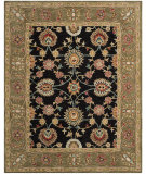 RugStudio presents Safavieh Anatolia An561c Black / Green Hand-Tufted, Best Quality Area Rug