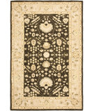 RugStudio presents Safavieh Anatolia An564a Chocolate / Ivory Hand-Tufted, Good Quality Area Rug