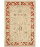 RugStudio presents Safavieh Anatolia An569a Taupe / Red Hand-Tufted, Good Quality Area Rug