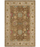 RugStudio presents Safavieh Anatolia An580f Brown / Ivory Hand-Tufted, Good Quality Area Rug