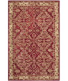 RugStudio presents Safavieh Anatolia An583b Red / Ivory Hand-Tufted, Best Quality Area Rug