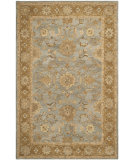 RugStudio presents Safavieh Anatolia An585d Light Blue / Taupe Hand-Tufted, Best Quality Area Rug
