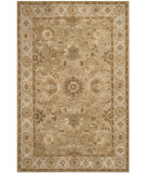 RugStudio presents Safavieh Anatolia An585f Tan / Ivory Hand-Tufted, Best Quality Area Rug