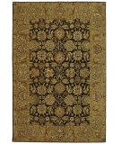RugStudio presents Safavieh Anatolia AN615B Dark Brown / Gold Hand-Tufted, Good Quality Area Rug