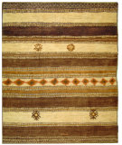 RugStudio presents Safavieh Aspen ASP586A Ivory / Walnut Area Rug