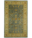 RugStudio presents Rugstudio Sample Sale 49618R Blue Hand-Tufted, Best Quality Area Rug
