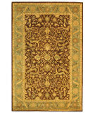 RugStudio presents Safavieh Antiquities AT14F Brown / Green Hand-Tufted, Best Quality Area Rug
