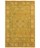 RugStudio presents Safavieh Antiquities AT16A Green / Ivory Hand-Tufted, Best Quality Area Rug