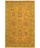 RugStudio presents Safavieh Antiquities AT20A Dark Gold / Green Hand-Tufted, Best Quality Area Rug