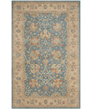 RugStudio presents Rugstudio Sample Sale 49627R Blue Hand-Tufted, Best Quality Area Rug