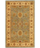 RugStudio presents Safavieh Antiquities AT249A Light Blue / Ivory Hand-Tufted, Best Quality Area Rug