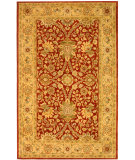 RugStudio presents Safavieh Antiquities AT249C Rust / Gold Hand-Tufted, Best Quality Area Rug