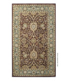 RugStudio presents Safavieh Antiquities AT249D Chocolate / Blue Hand-Tufted, Best Quality Area Rug