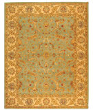 RugStudio presents Safavieh Antiquities AT311B Teal / Beige Hand-Tufted, Best Quality Area Rug