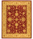 RugStudio presents Safavieh Antiquities AT312C Red / Gold Hand-Tufted, Best Quality Area Rug