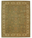 RugStudio presents Safavieh Antiquities AT313A Green / Gold Hand-Tufted, Best Quality Area Rug