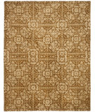 RugStudio presents Safavieh Antiquities AT411A Gold / Beige Hand-Tufted, Best Quality Area Rug