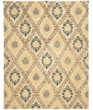 RugStudio presents Safavieh Antiquities AT460A Light Gold / Multi Hand-Tufted, Best Quality Area Rug