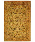 RugStudio presents Safavieh Antiquities AT52A Sage / Gold Hand-Tufted, Best Quality Area Rug