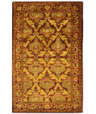 RugStudio presents Safavieh Antiquities AT54A Wine / Gold Hand-Tufted, Best Quality Area Rug